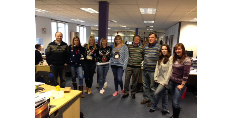 Tis the season of good will – and Christmas jumpers