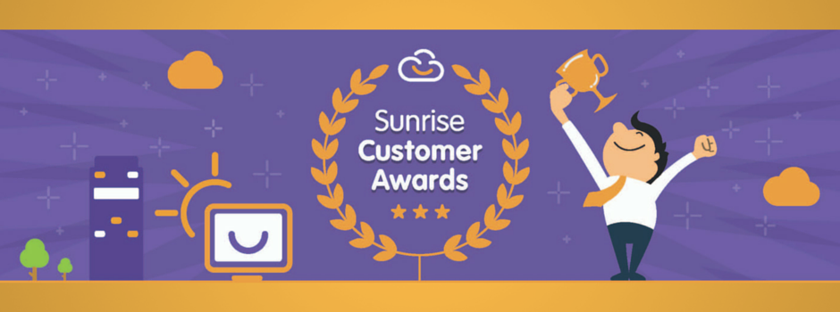 Sunrise Customer Awards 2016