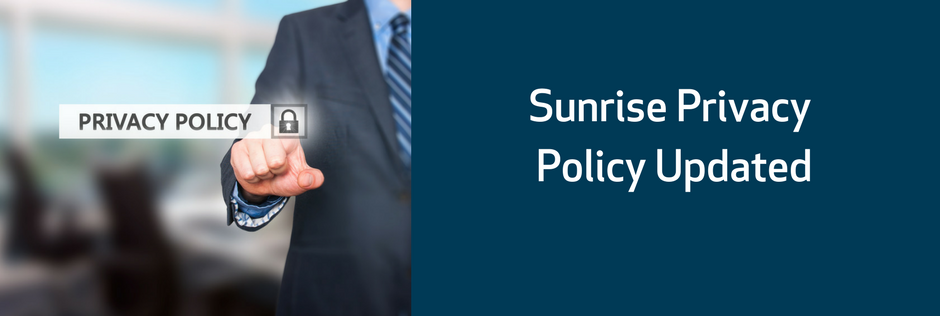 Sunrise Privacy Policy