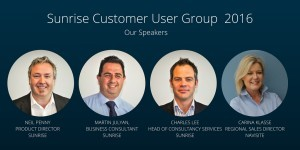 Customer User Group Speakers