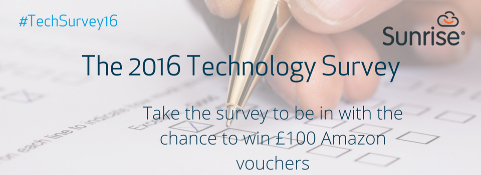 The Technology Survey 2016