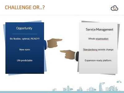Turn challenges into ITSM opportunities