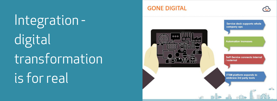 Digital Transformation is for Real in Service Desk Integration