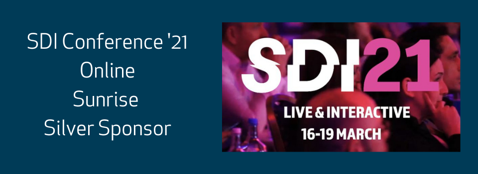 16-19th March: SDI 21 Live Online Conference